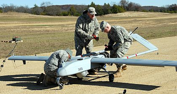 AAI Corp. chooses power-conversion electronics from Analytic Systems for Shadow UAV