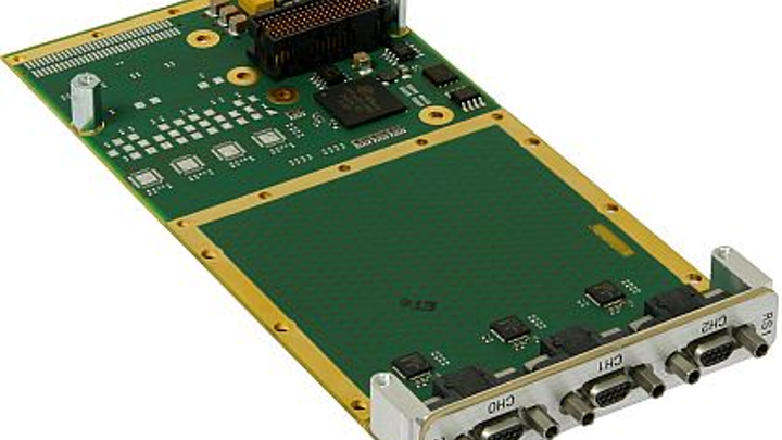 Rugged XMC communications adapter for military embedded systems introduced by Concurrent