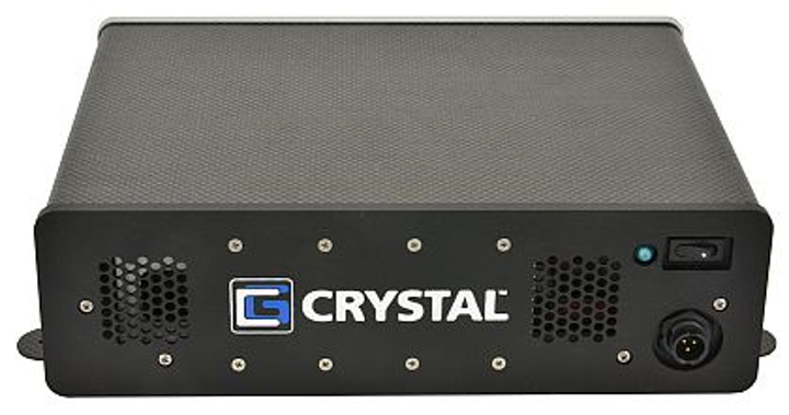 Rugged computer that weighs 3.8 pounds introduced by Crystal for avionics and vetronics