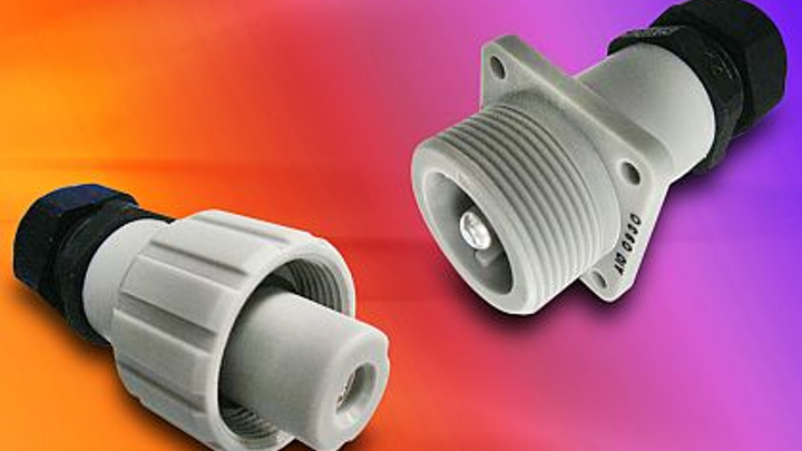 Rugged connectors for power electronics in industrial automation introduced by Amphenol