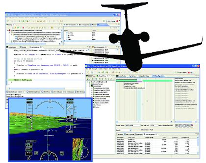 Embedded real-time operating system software secures