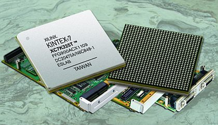 Rugged XMC modules based on the Xilinx Kintex-7 FPGA introduced by Curtiss-Wright for military embedded systems