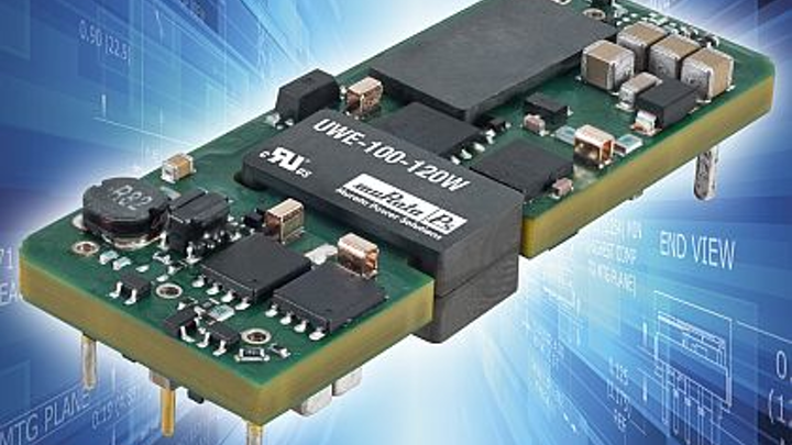 100-to-120-Watt eighth-brick DC-DC converters for embedded computing introduced by Murata Power