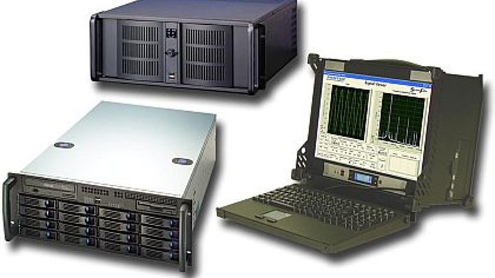 Serial FPDP rugged data recorders for aircraft, ships, and vehicles introduced by Pentek