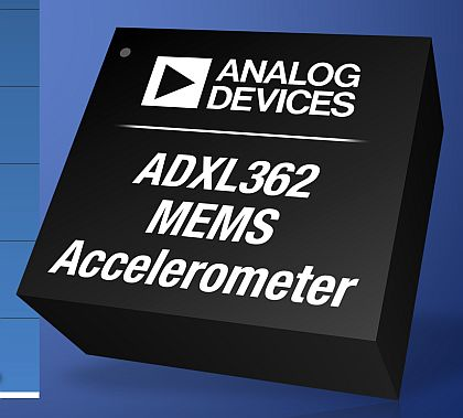 Soldier-worn sensor that measures the destructive power of explosives uses MEMS accelerometer from Analog Devices