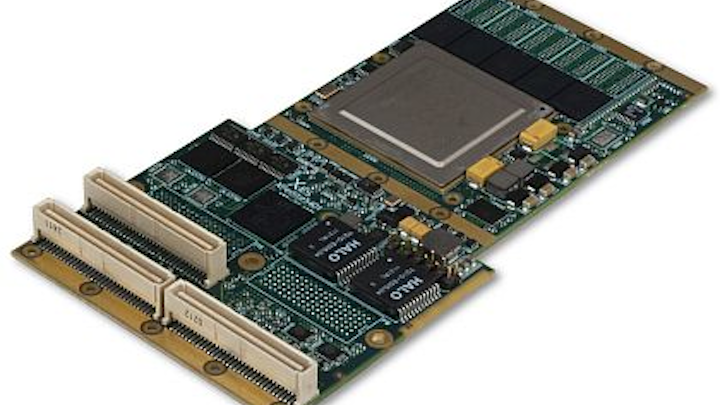 Conduction-cooled PrPMC/XMC embedded computer based on Freescale QorIQ processor introduced by X-ES