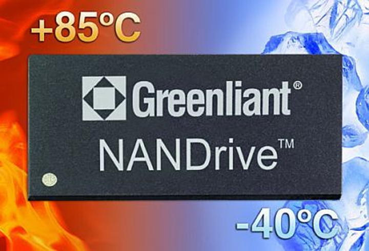 Industrial-temperature SATA and PATA embedded solid state drives introduced by Greenliant