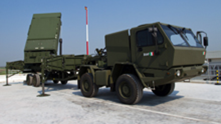 MEADS fire control radar