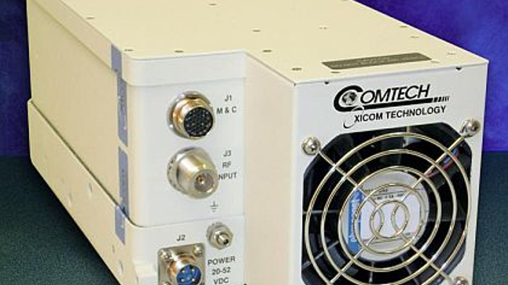 Compact SATCOM amplifier for military communications introduced by Comtech Xicom