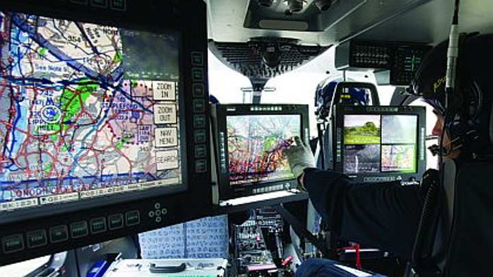 17-inch rugged mission display for military and law-enforcement introduced by Curtiss-Wright