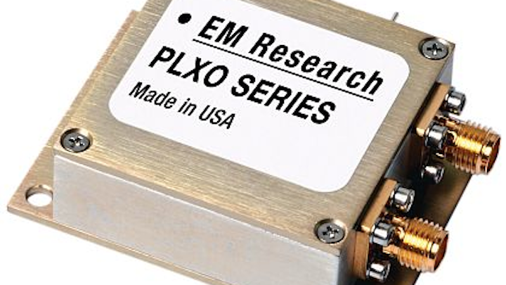 Phase-locked crystal oscillator for A/D and D/A converters introduced by EM Research
