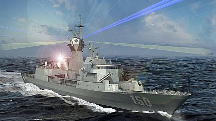 Raytheon joins DRS in Navy research to develop high-power electronics for ships and submarines