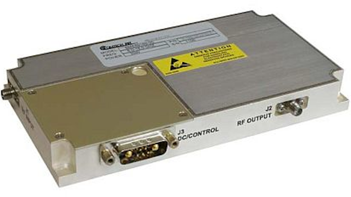 Solid-state RF power amplifier for EW, radar, and communications introduced by Comtech PST