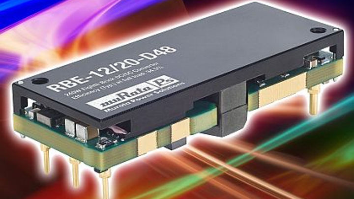 Isolated DC-DC converter power supply for distributed power introduced by Murata Power