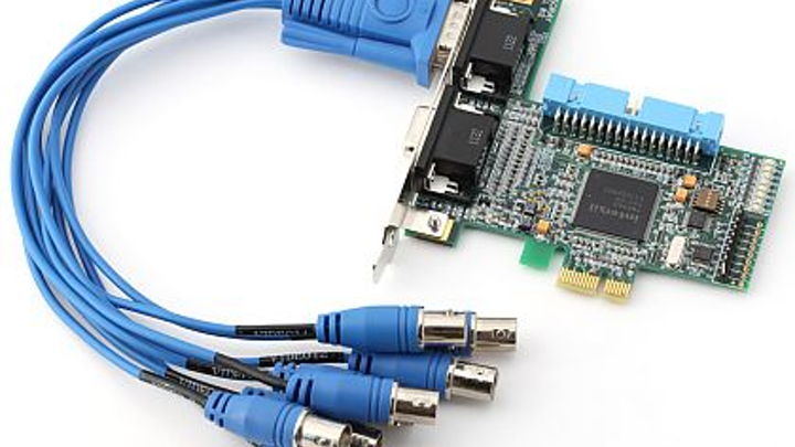 PCI-Express eight-channel frame grabber for fast image capture introduced by Sensoray