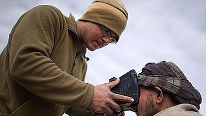 Army Special Operations surveys industry for the latest in tactical biometric devices