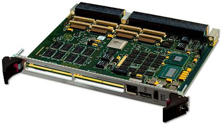 Rugged 6U VPX single-board computer for military applications introduced by X-ES