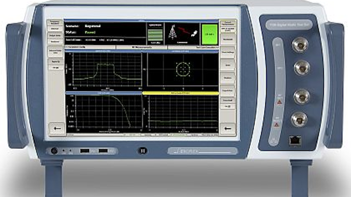 Aeroflex introduces MIMO software support for 7100 digital radio test set