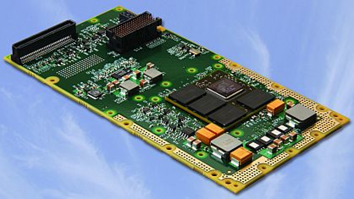 XMC graphics controller for moving maps and helmet displays introduced by Curtiss-Wright