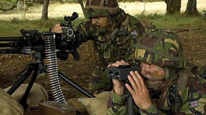 Marines ask four electro-optics companies to build rugged handheld laser targeting systems
