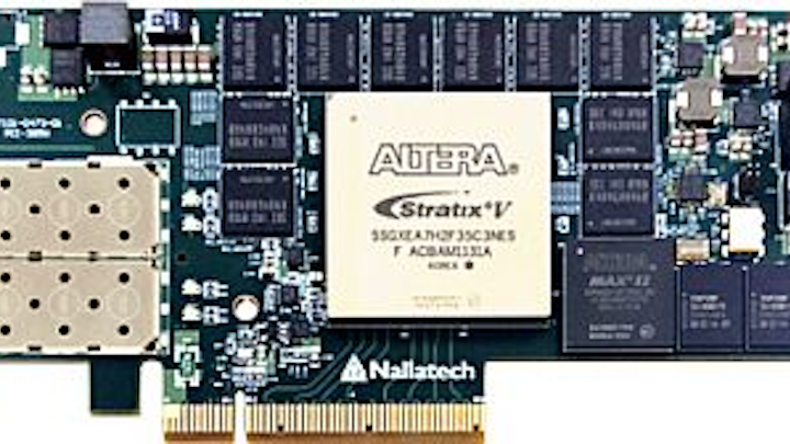PCI Express FPGA card supporting Altera software development introduced by Nallatech