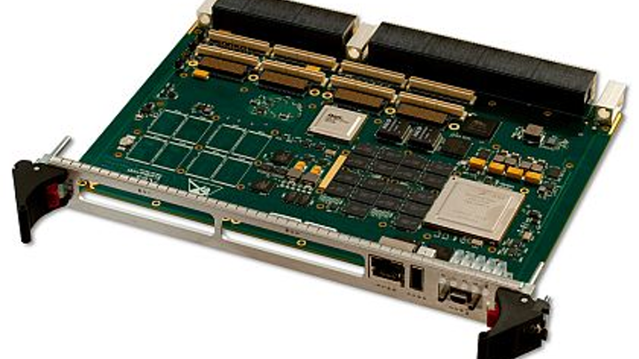 6U VPX embedded computing board with QorIQ processors introduced by X-ES for military applications
