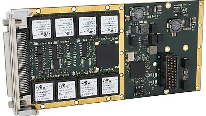 Eight-channel MIL-STD-1553 module introduced by DDC for aerospace and defense applications