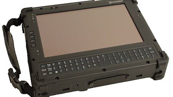 Rugged tablet computer for military personnel in the field introduced by MilDef