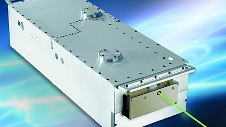 High-power Q-switched laser green for microelectronics manufacturing introduced by Newport
