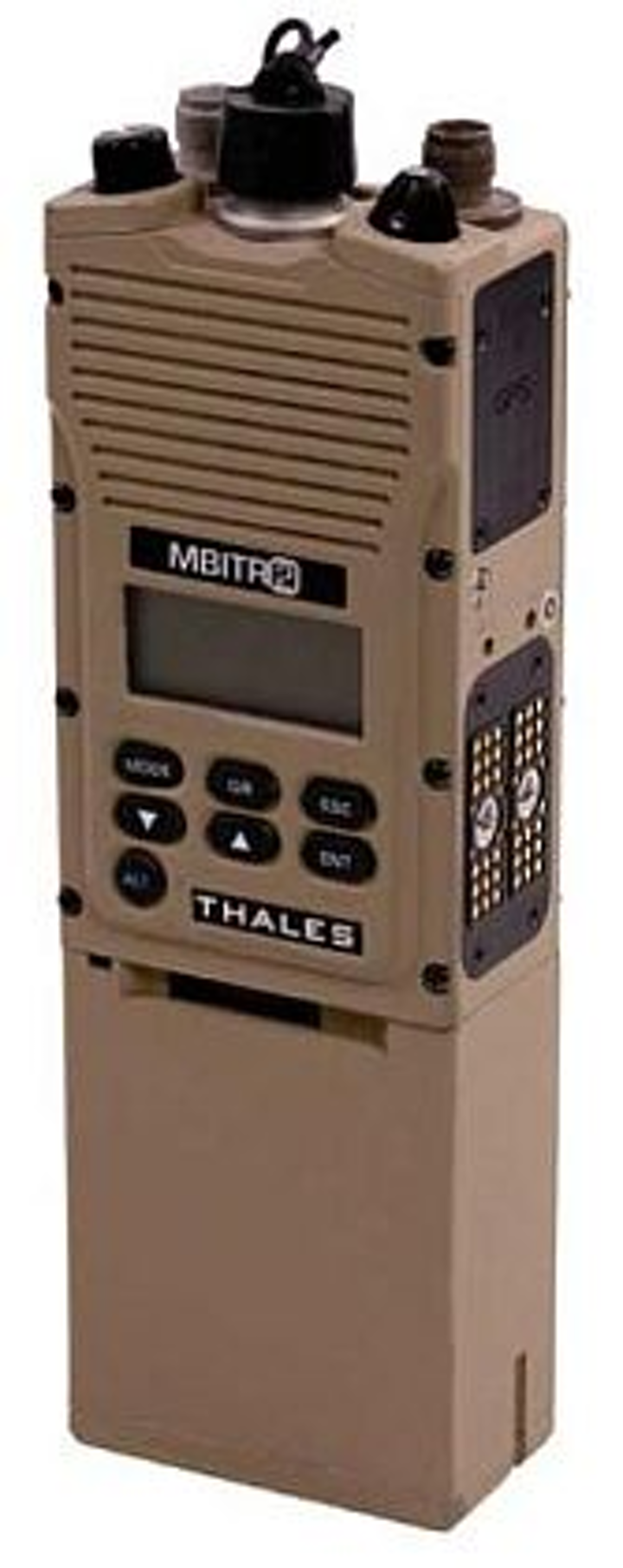 Military radio that transmits simultaneously on wideband and narrowband introduced by Thales