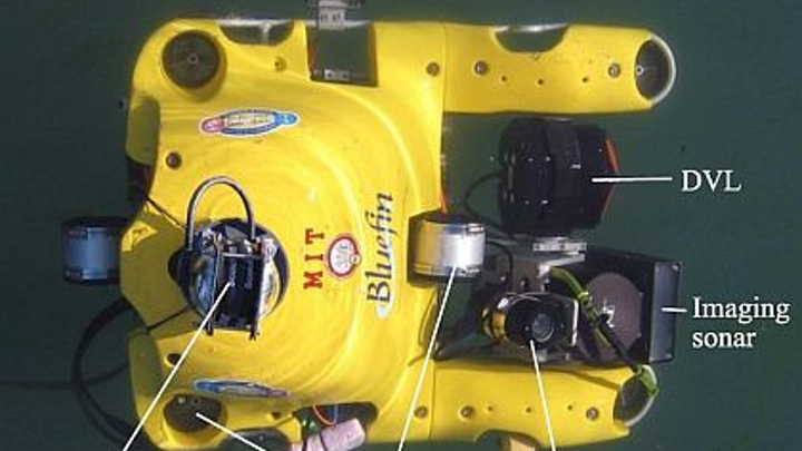 Navy looks to Bluefin for enhanced UUV technology to inspect hulls of ships at anchor