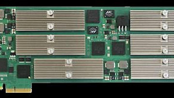 PCI Express media processing acceleration card introduced by Emerson Network Power