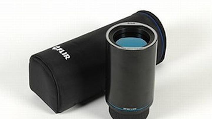 Motorized 100-millimeter USL lens for thermal imaging