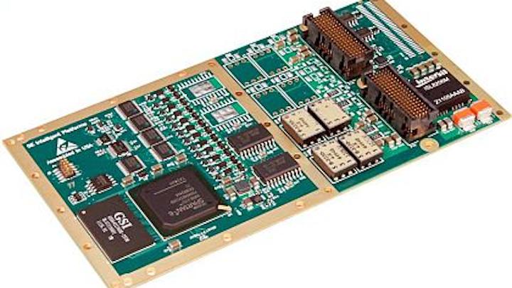 ARINC 429/MIL-STD-1553 XMC for avionics labs and flight simulators introduced by GE