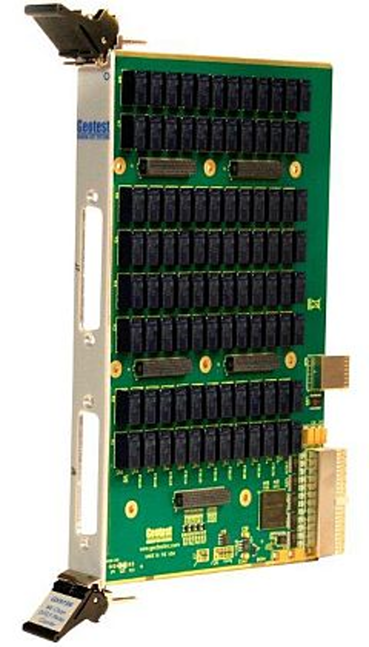 6U PXI switch board for custom control interfaces introduced by Geotest-Marvin