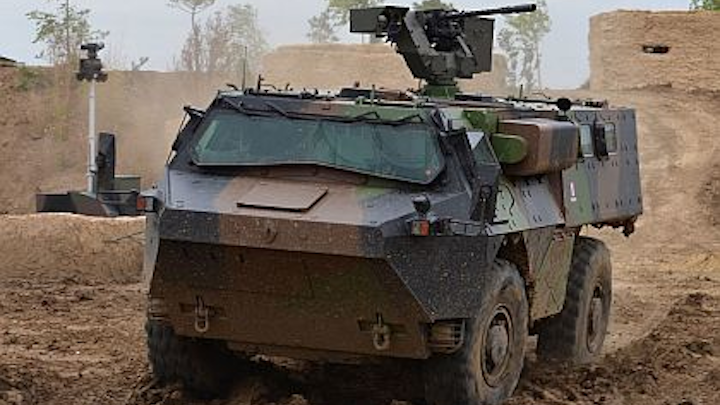 Networked vetronics for armored combat vehicles is aim of French company team