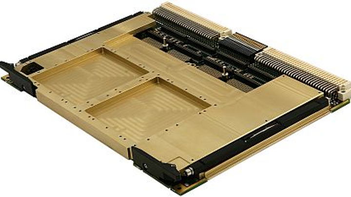 6U VME64x single-board computer for technology insertion into aircraft offered by CES