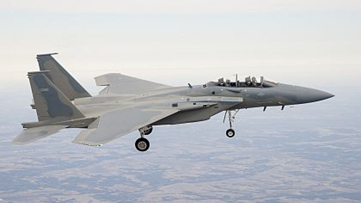 Air Force begins testing of advanced F-15 jet fighter with fly-by-wire and digital EW systems