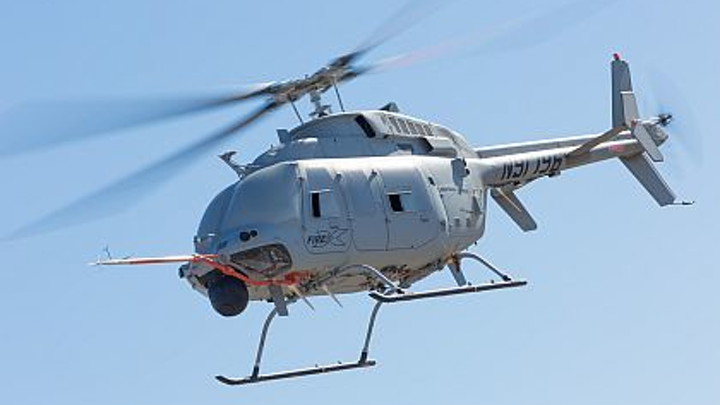 Next-generation Fire Scout unmanned helicopters to have increased range and payload