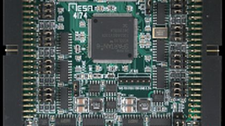 PCI/104 eight-channel quadrature counter card for robotics applications introduced by Mesa