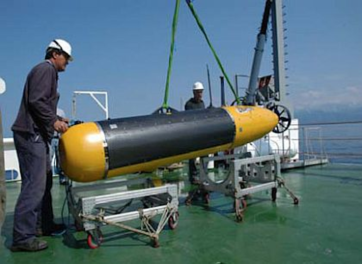 NATO minehunting UUV relies on GPU-based embedded processor from GE for imaging sonar