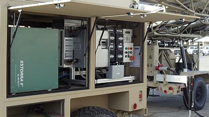 Navy to field-test hydrogen fuel cell- and solar-powered military renewable energy system