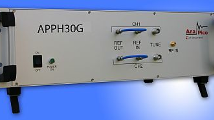 Cross-correlation phase noise test system from AnaPico AG offered by distributor Saelig