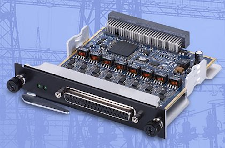 Analog input boards for battery testing and aircraft power monitoring introduced by UEI