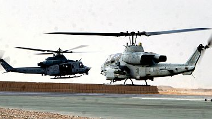 Bell Helicopter prepares to build 25 new UH-1Y and AH-1Z helicopters for U.S. Marine Corps