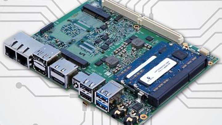 Single-board computer for embedded security and industrial uses introduced by andersDX