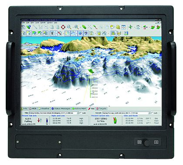 Comark MDU19PC rugged PC for shipboard applications completes environmental testing