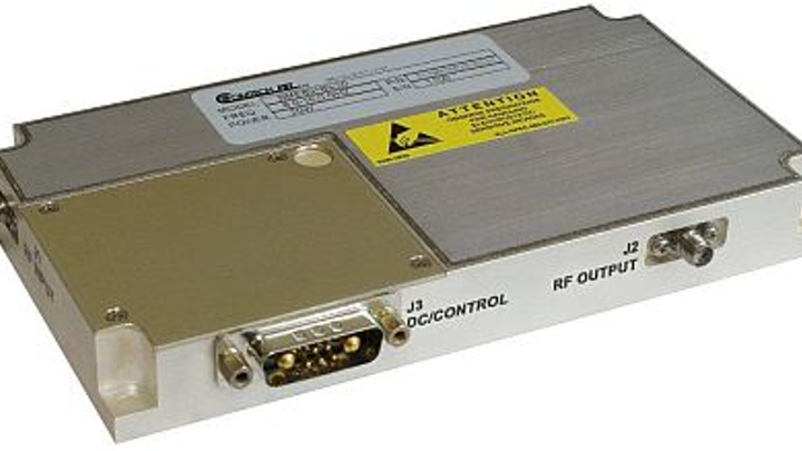 Solid-state GaN RF amplifier for electronic warfare and radar offered by Comtech PST