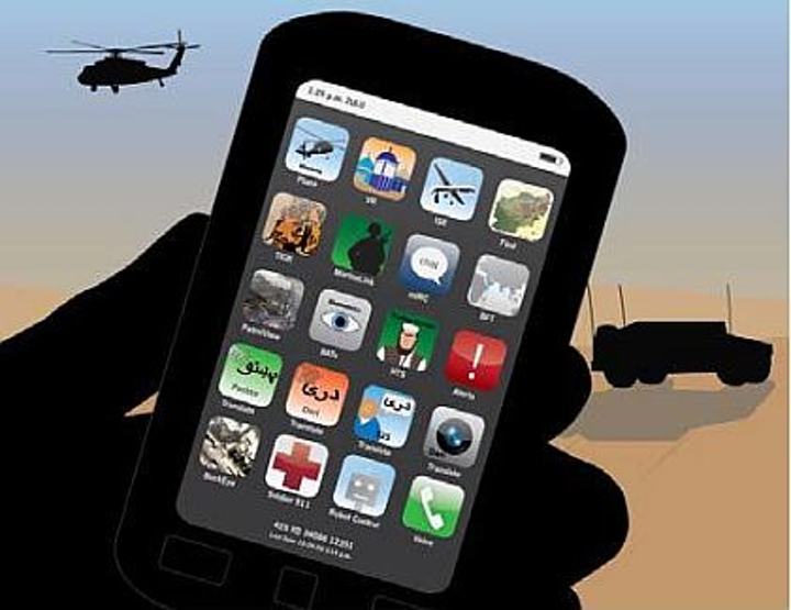 DARPA to create app store of military mobile apps that run on rugged smartphones and tablets
