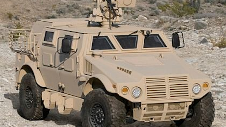 Navy eyes tactical vehicle-mounted UAV-killing laser to defend Marines while on the move